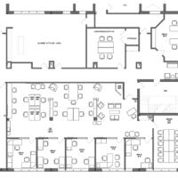 Coworking Station of Walpole Floor Plan