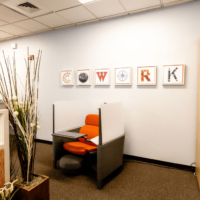 Coworking Station of Walpole - Cowork Sign