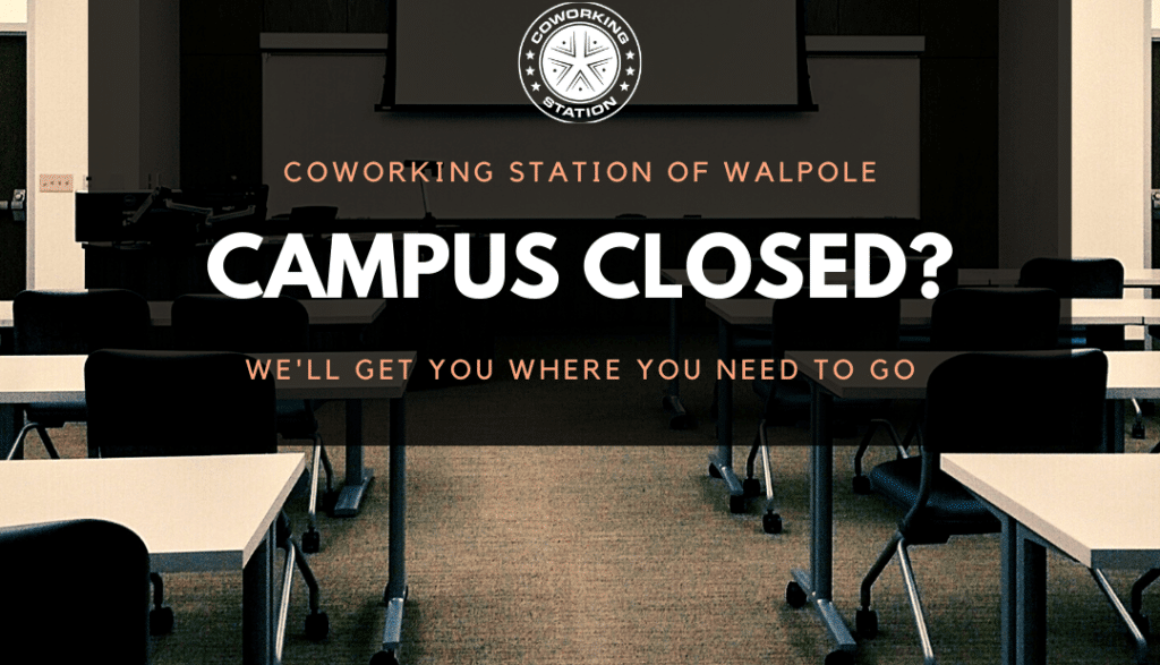 Coworking Station Walpole - Remote Office for Students